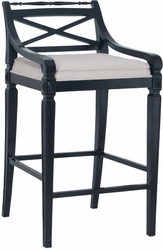 Crossback Barstool - one pair