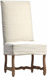 Dafne Dining Chair with Slipcover - one pair