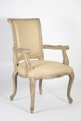 Dijon Arm Chair (Hemp-Limed Grey Oak)