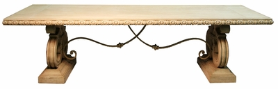 Dining Table Cardinale 10 ft, Provenzal