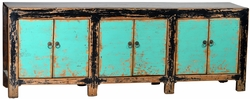 Domencia Antique Aqua Sideboard