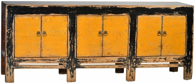 Dona Antique Yellow Sideboard