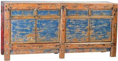 Donata Antique Blue Sideboard