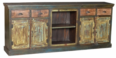Drina Teak Hand Painted Sideboard