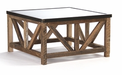 Eloise Coffee Table (Zinc Top)