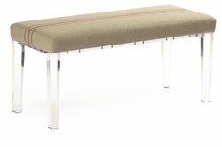 Emma Bench (Red Stripe)