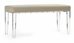 Emma Bench (Solid Linen)
