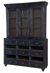 European Farmhouse Display Cabinet