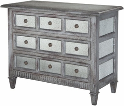Farmhouse Mirrored Chest