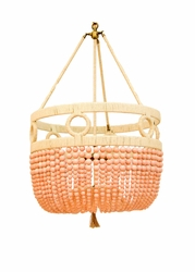 Frankie Malibu Beaded Hanging Chandelier