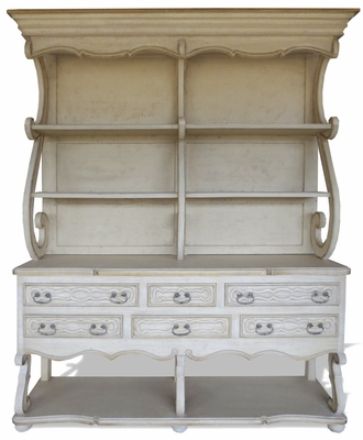 French Country Kitchen Hutch
