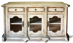 French Country Sideboard Belle Noir Grey