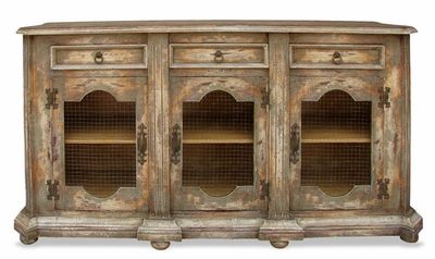 French Country Sideboard, Belle Noir Moss