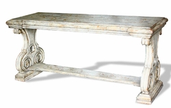 French Country Sofa Table, Romana