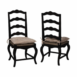 French Provencal Side Chair - one pair
