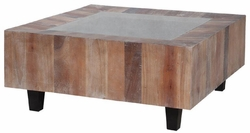 Grain De Bois Square Coffee Table