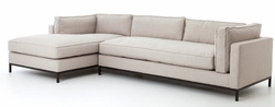 Grammercy 2 pc Sectional Chaise (Right or Left Arm)