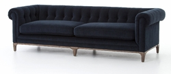 Griffon Sofa-Plush Navy