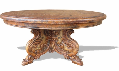 Hand Carved Uteman Dining Table
