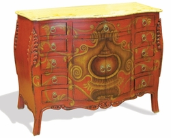 Hand Painted and Distressed Sideboard, Venecia