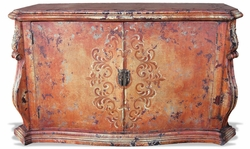 Hand Painted Buffet Pardo Distressed