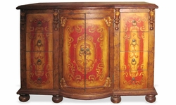 Hand Painted Cabinet King Lima