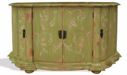 Hand Painted Distressed Buffet, Ashley