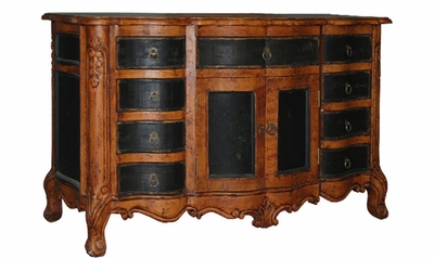 Hand Painted Distressed Buffet, Brugges