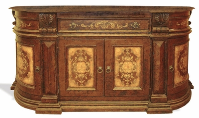 Hand Painted Distressed Buffet, Madrid