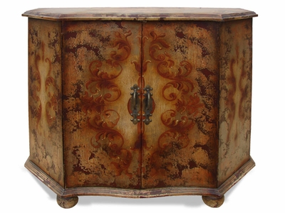 Hand Painted Distressed  Buffet, Maria