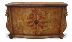 Hand Painted Distressed Buffet, Otto
