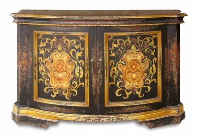 Hand Painted Distressed Buffet, Parma