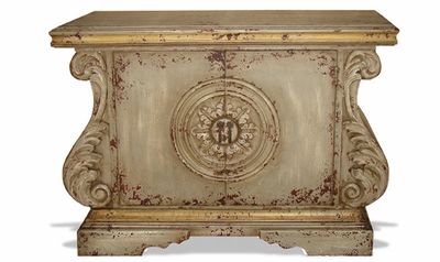 Hand Painted Distressed Buffet, Sol