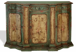 Hand Painted Distressed Buffet, Vilca