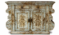 Hand Painted Distressed Bufffet, Manchester