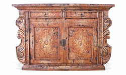 Hand Painted Manchester Sideboard Venetian Finish