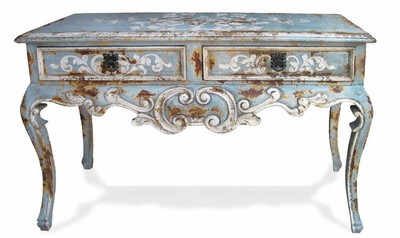 Hand Painted Sofa Table