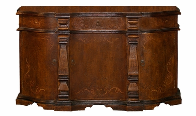 Hand Painted Torched Buffet, Meghan