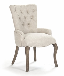 Iris Tufted Chair (w/ring)