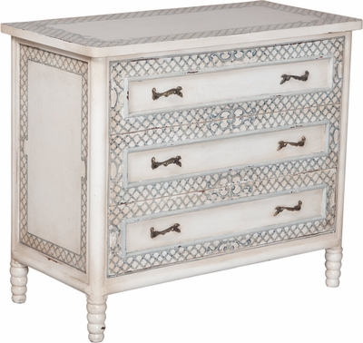 Island Cottage Bamboo Chest