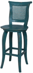 Italian Rattan Counterstool - one pair