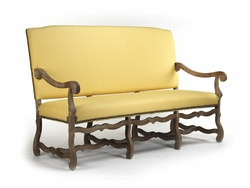 Julien Bench (Yellow Fabric)