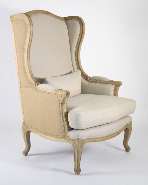 Exceptionnel Leon Chair (Natural Linen U0026 Jute)
