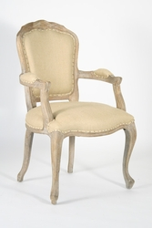 Lyon Arm Chair (Hemp-Limed Grey Oak)