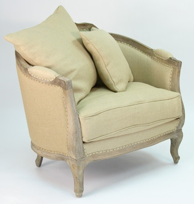 Maison Love Chair (Hemp Linen-Jute)