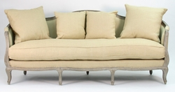 Maison Sofa (Hemp/Linen-Limed Grey Oak)
