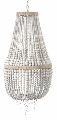 Malibu Up Beaded Hanging Chandelier