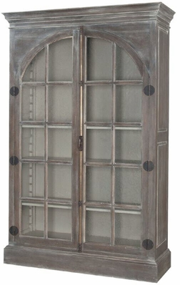 Manor Arched Door Display Cabinet