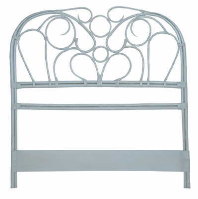 Manor Misty Rattan Headboard