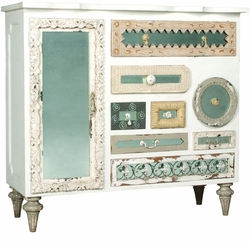Mirror Mosaic Chest